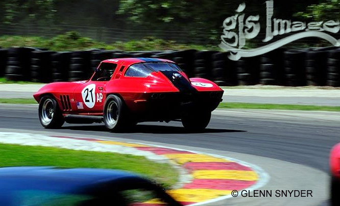 # 21 - SCCA AP, 2011 Corvette World Tribute, Bill Todd at Road America