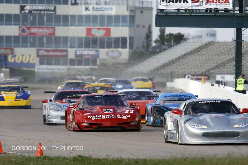 # 23 - SCCA GT1, 2008, Heartland Park Runoffs - Amy Ruman