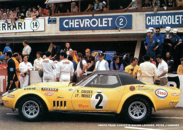# 2 - FIA - 1970 - Le Mans - Henri Greder, Jean-Pierre Rouget - 706401 bought from Duntov