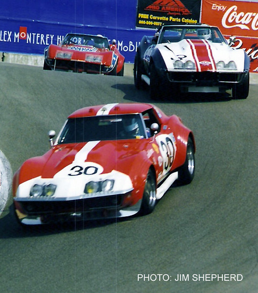 # 3 - FIA - 1968 - Le Mans - Henri Greder, Umberto Maaglioli, 410300, DNF.  Shown here owned by Larry Bowman at Monterey Historics circa 2007