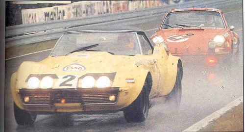 # 2 - FIA - 1970 - Le Mans - Henri Greder, Jean-Pierre Rouget  chassis 706401 (David Palmeter collection)