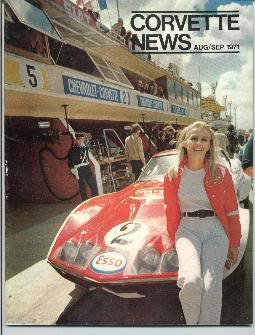 Marie Claude Beaumont, Le Mans, 1971