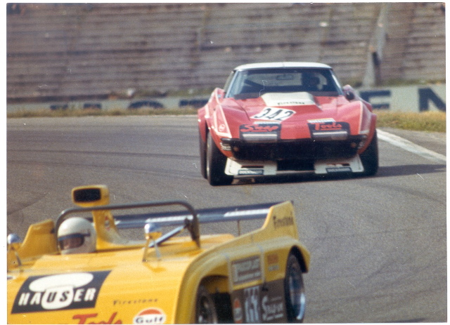 # 342- FIA - 1973 - Hockenheim - Joe Kretschi/Walter Stierli, 408067. Ex Garant Giorgi car (the wreck) now owned by Robert Dubler