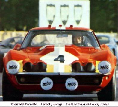 # 4 - Garant-Giorgi, 1968 at Le Mans courtesy of Jim Cantrell