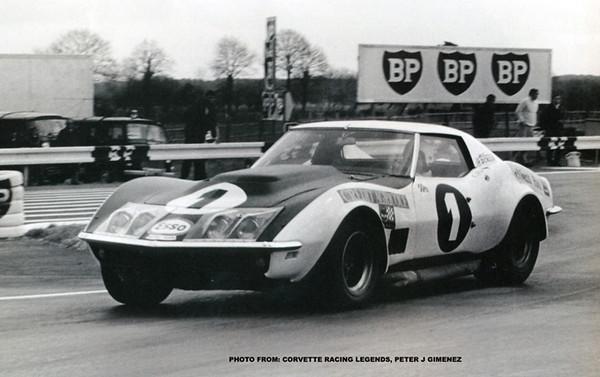# 1 - FIA - 1970 - Jean-Claude Aubriet, 410300 purchased from Greder, re-painted white w/matt black hood