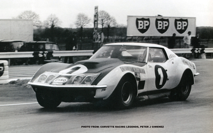 # 1 - FIA - 1970 - Jean-Claude Aubriet, 410300 purchased from Greder, re-painted white w/matt black hood