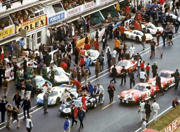 # 3 & # 4, Greder & Garant-Girogi, 1968 at Le Mans courtesy of Jim Cantrell