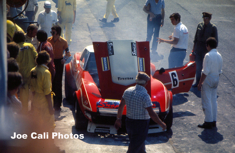 # 6 - FIA - 1973 - Monza - Joe Kretschi/Walter Stierli, 408067.  Ex Garant Giorgi car (the wreck) now owned by Robert Dubler