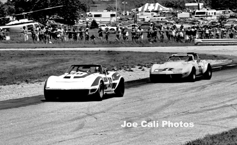 # 30 - IMSA  1973 Road America - Alex Davidson in former Dave Heinz car
