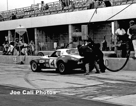 # 4 - IMSA 1972 Watkins Glen - Bob Baechle and Gary Shaw. Car later runs as # 64