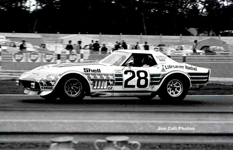 # 28 -  FIA/ACO, 1972, 24 Hours of Le Mans - John Greenwood driving the # 48 BFG car, re-numbered for Le Mans