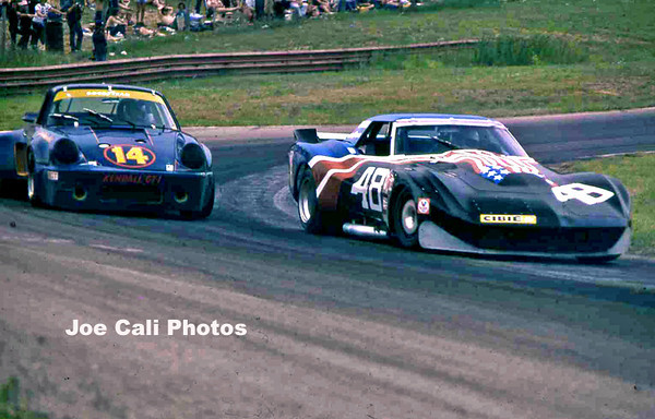# 48 - IMSA 1974 Mid-Ohio - Greenwood's new widebody car...the mule (to become # 75 spirit of Sebring '75 in 1975)