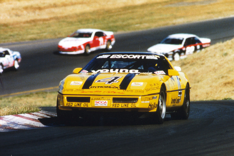 1990 - # 4 - Escort WC - Sears Point - Bakeracing