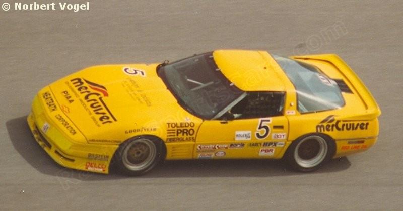 1993 - # 5 - IMSA - Daytona  24 Hrs - Corvette ZR1 - Lou Gigliotti, Boris Said, Shawn Hendricks, Jim Minniker, Peter Cunningham