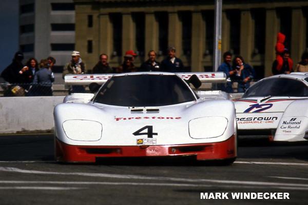 # 4 - IMSA GTP, 1985, Columbus - Chip Mead  HU711-02