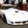 # 6 - SCCA TA, 1983, Riverside - Greg Pickett in second generation narrow-body Corvette