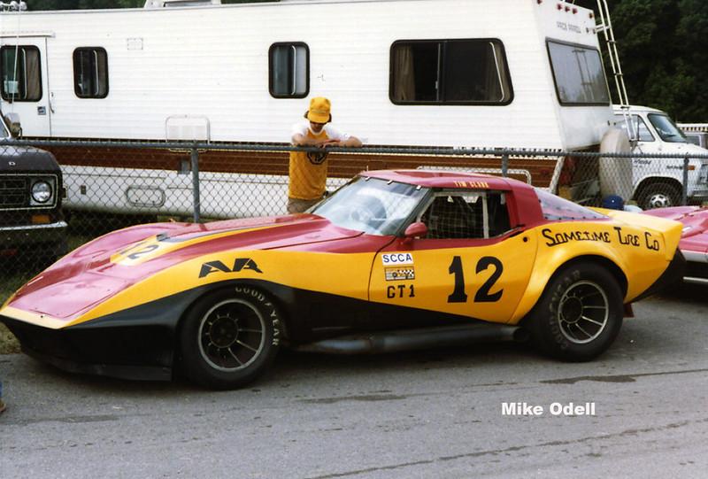 #12 - SCCA GT1, 1981, Road America - Tim Clark