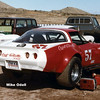 # 57 - SCCA GT1, 1983, Willow Springs - Bob Patch. Sponsored by Charles Hance at Coast Corvette, Anaheim, CA.