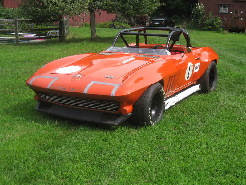 # 1 - later configuration of C2 roadster w/pulled out flares, examples seen further in this gallery