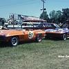 # 67 - SCCA BP, 1967, Road America - Dave Rex and # 77 - SCCA AP, 1967 - Bill Morrison