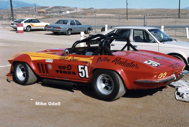 # 51 - SCCA GT1, 1983, Willow Springs? - Walt Snow