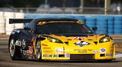 2009 - # 28 - ALMS GT2 - Lou Gig - Eric Curran - Luca Molo