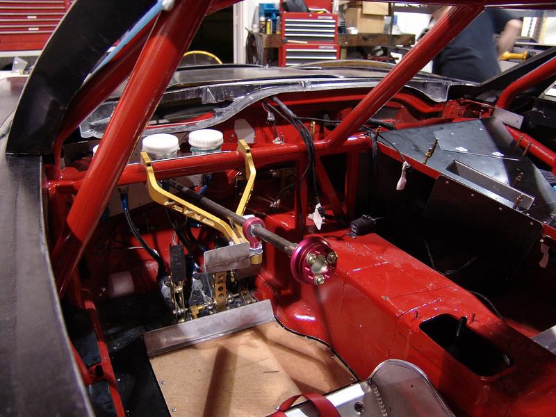 2005-06 - # 28 - C6 SCCA WC car under const - DSC02302
