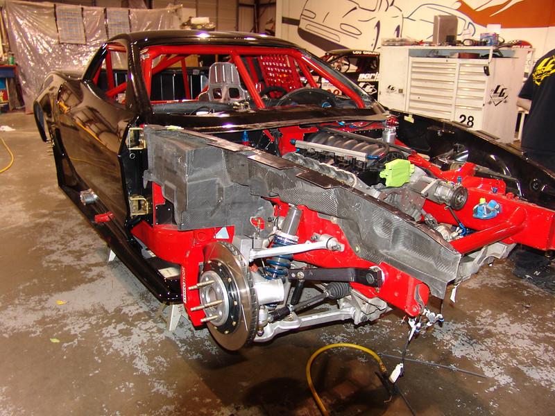 2005-06 - # 28 - C6 SCCA WC car under const - DSC02493
