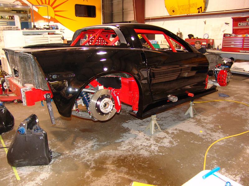 2005-06 - # 28 - C6 SCCA WC car under const - DSC02495