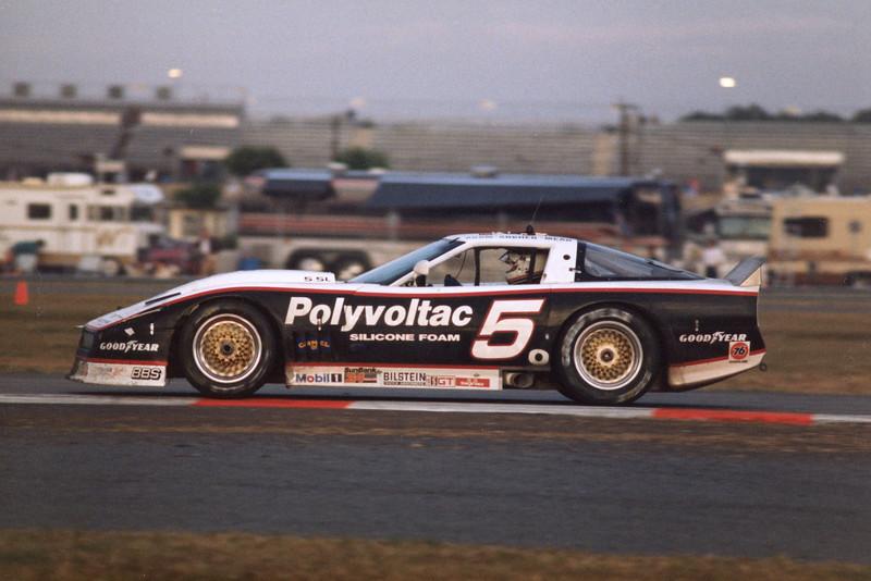# 5 - 1988 IMSA GTO Tommy Archer, Chip Mead, Bill Adam  at Daytona 24, Terry Capps photo