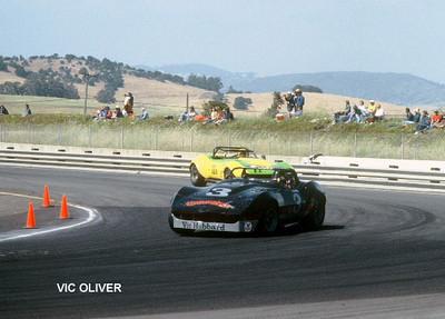 # 3 - SCCA TA, Sears Point, 1975-77 - Dave Mock, Mocko Racing, Vic Hubbard sponsorship