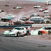 # 20 - SCCA TA, Laguna Seca, 1978 - Larry Stephens leads # 6 Greg Pickett in ex-Greenwood full tubeframe car.