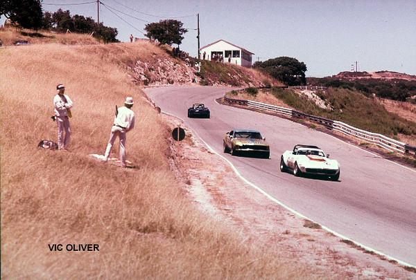 # 2 - IMSA, Laguna Seca, 1978 - Bob Matkovich (car features a one-off red hood bulge for this year).