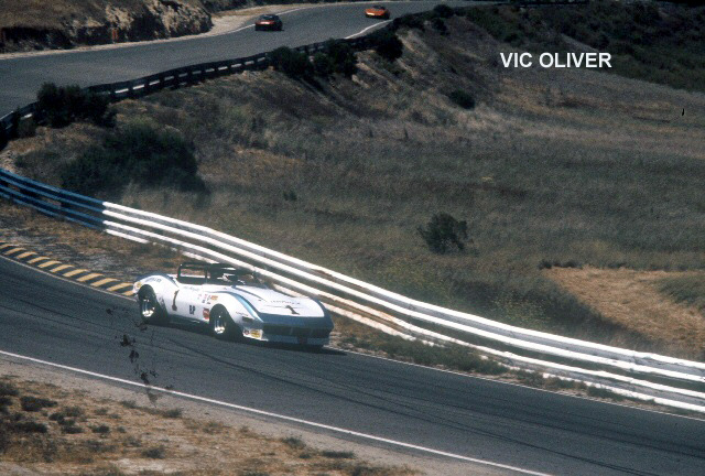 "# 1 - SCCA BP, Laguna Seca, 1979 - Andy Porterfield  Video of 1979 Trans Am race  <a href=""http://www.youtube.com/watch?v=AavSc_ZBUEI"">http://www.youtube.com/watch?v=AavSc_ZBUEI</a>"