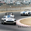# 77 - GRL, Laguna Seca, 2002 - Joe Freitas  leads # 3 Ron Cressey and # 8 Scott Dames