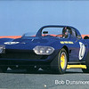 # 10 - GRL, Laguna Seca, 1987 - J.D. Purvis.  GS 001 Dick Thompson/Dick Guldstrand Roger Penske owned classified 47th DNF at 1966 Sebring 12 hr race