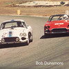 # 2 - GRL, Laguna Seca, 1987 - Tony Denman leads # 69 Frank Dominianni.  # 2 then owned by Mike Ernst is Grady Davis SCCA 1962 AP national champ.  # 69 then owned  by  Jan Hyde is Frank Dominianni 1964 SCCA BP national champ. (photo by David Gooley)