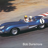 """# 1 - GRL, Laguna Seca, 1987 - John Fitch drives Zora Duntov in Corvette SS prototype retired after 23 laps at 1957 Sebring 12 hour race.  GM abandoned racing, car was """"given"""" to Indianapolis Motor racing museum instead of being  headed for Le Mans.<br /> (photo by Art Eastman)"""