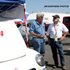 # 54 - GRL, Laguna Seca, 2009 - Charlie Elman chats  it up with Jay Leno