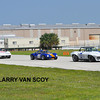 # 22 - HSR, Sebring, 2009 - Bill  Keller leads Ginetta and  Ron Bauer # 114