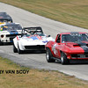 # 21 - SVRA, Road America, 2009 - Bill Todd leads # 98