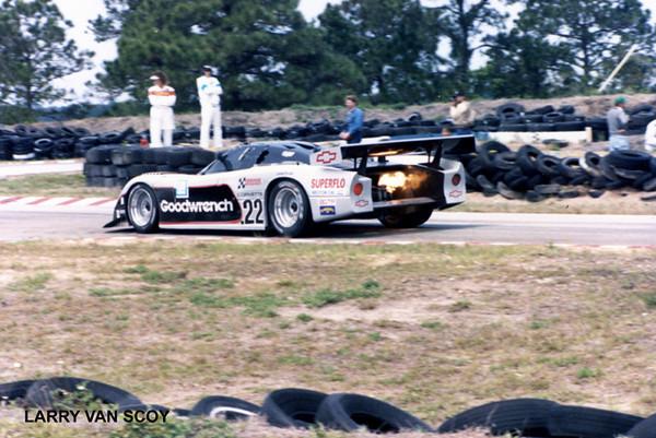 # 22 - IMSA GTP, Sebring, 1987 - Sarel VanDerMewre/Doc Bundy