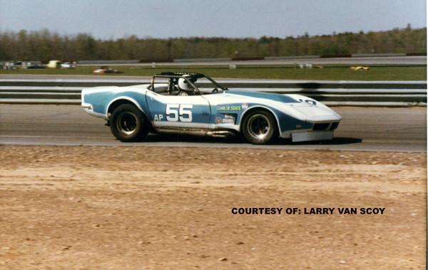 Skip Panzarella at Pocono (this car evolved per following photos and then preceding photos)