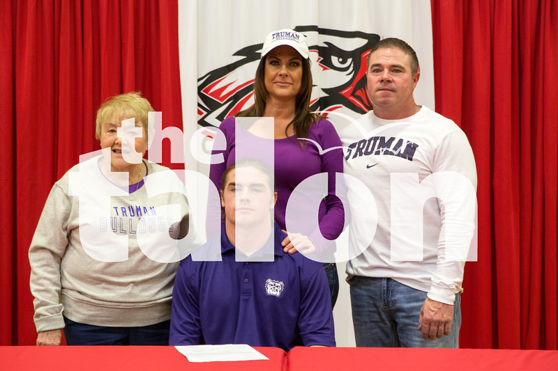 Spring Signing Day on Wednesday, Feb. 3 at Argyle High School in Argyle, TX. (Caleb Miles / The Talon News)