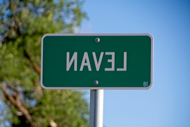 In the middle of Utah is Navel, I mean, Levan.