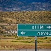 """In the middle of Utah is Navel, I mean, Levan. Maybe this sign says, """"Slimm Navel"""""""