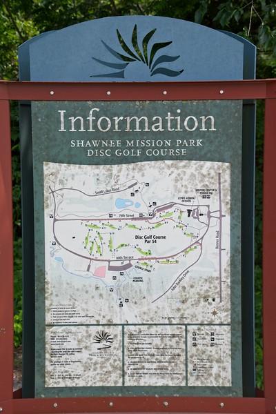 Shawnee Mission Park Disc Golf Course, Kansas