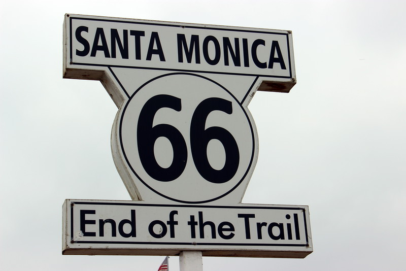 Route 66 End of the Trail