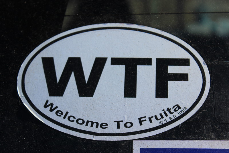 Welcome to Fruita Sign