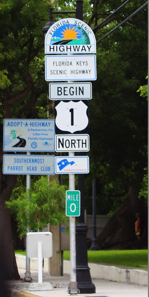 Begin US Route 1 North